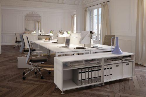 Modernes Büro in Altbau